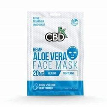 CBDfx Hemp Aloe Vera Mask