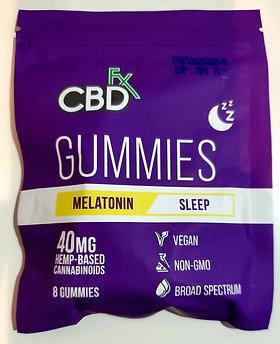 CBDfx Melatonin Gummies