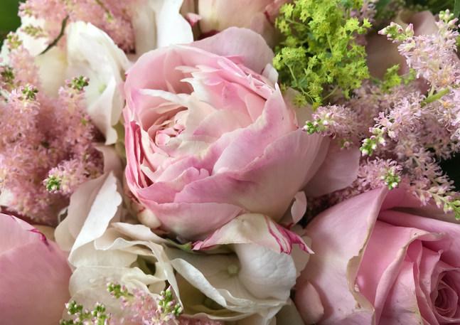 Bouquet de mariée - Fleuriste Lasne - Volubilis
