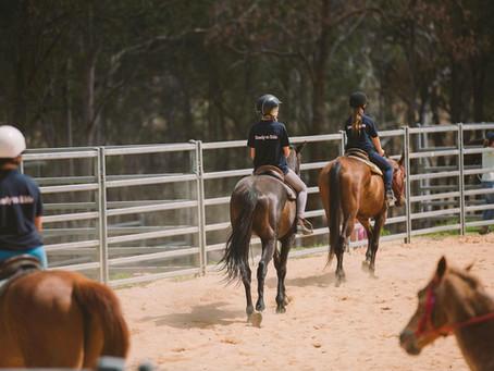 L.O.V.E group riding lessons