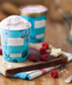 Raspberry & White Choc The Handmade Ice