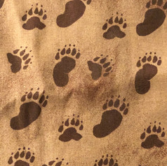 Animal Tracks - Brown