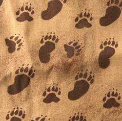 Animal Tracks - Brown
