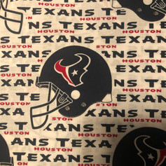 Houston Texans Helmet and Name Repeat