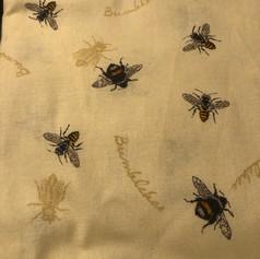 Bumble Bees - Light Yellow