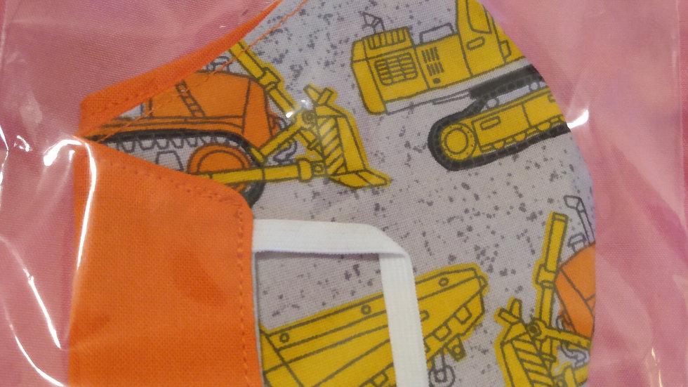 Construction Vehicles/Orange