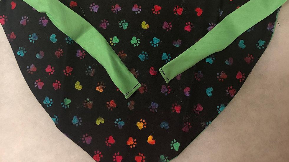 Dog Bandana with Ties