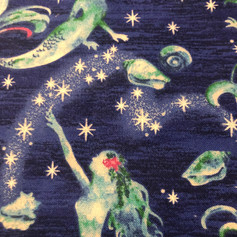 Mermaids with Shells and Stars