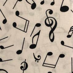 Black Music Notes on White