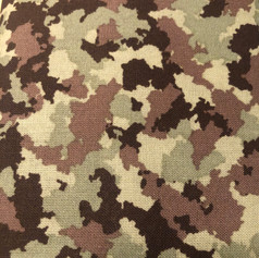 Camoflauge Green, Tan, Brown, Black