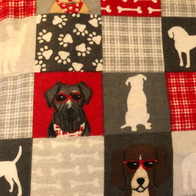 Patchwork Dogs, Bones, Paws