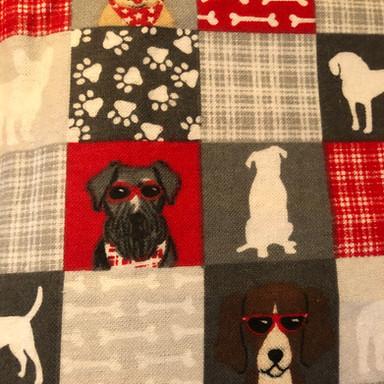 Patchwork Dogs, Bones, Paws