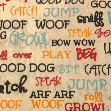 Dog Actions - Words