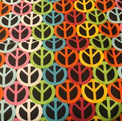 Multi Color Peace Signs