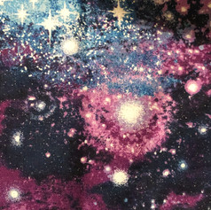 Galaxy - Purple, Blue, White