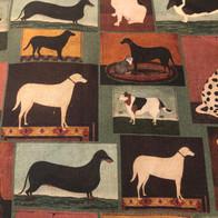 Blocks of Dogs - Hunter Green