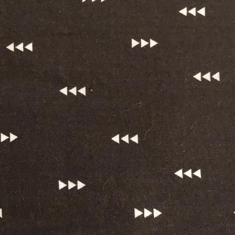 White Arrows on Black