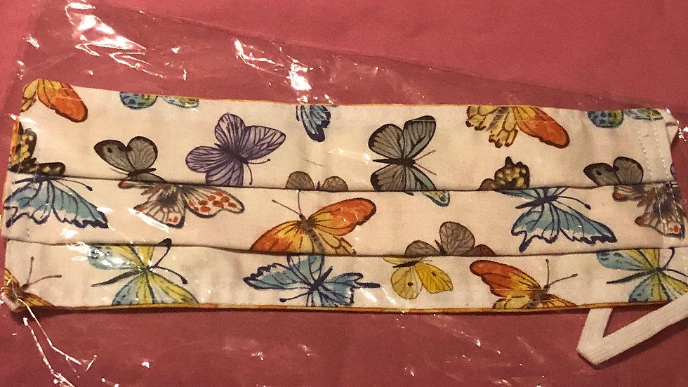 "Multi-Colored Butterflies/Orange and Yellow ""Splash"""