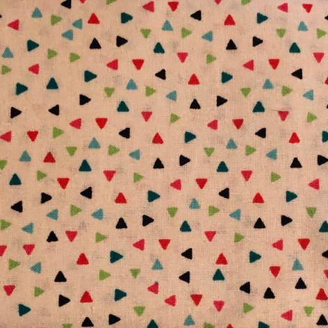 Multi Color Confetti on Beige