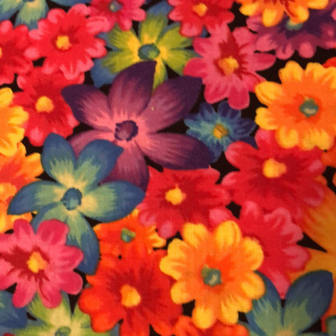 Bright, Colorful Flowers