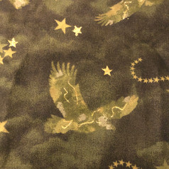 Soaring Eagles - Gold and Army Green