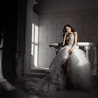 Photo: @laamante33foto  Muah: @sasharomanova_muah  Dress: @weddingdressnsk  Model: Лера @rblesk