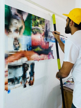 In the studio: Alejandro Piñeiro Bello
