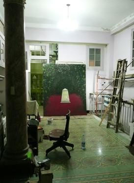 In the studio: Jose Manuel Mesías