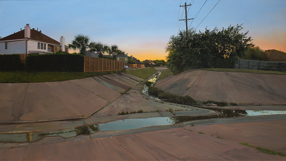 "Nate Burbeck, ""The Colony, Texas,"" 2018"