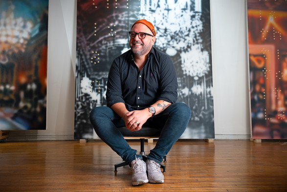 Portrait of the artist: Raúl Cordero