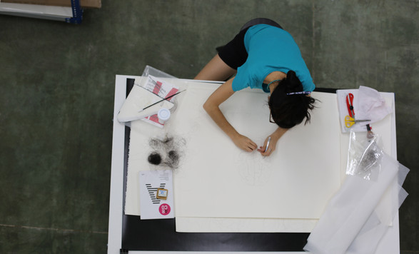 In the studio: Glenda León