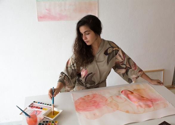 In the studio: Liz Capote