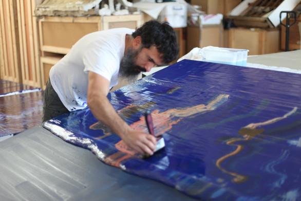 In the studio: José Yaque