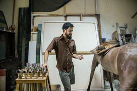 In the studio: José Manuel Mesías