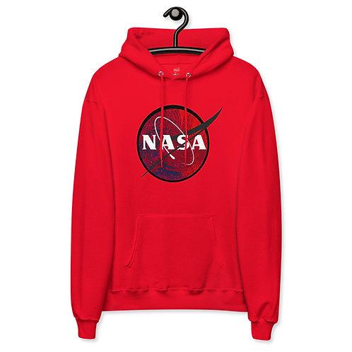 'NASA' Unisex fleece hoodie