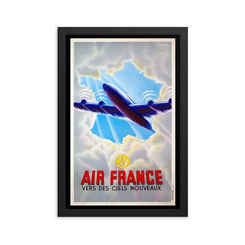 'Air France' Framed poster