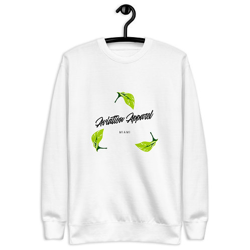 'MIAMI LEAF' Unisex Fleece Pullover