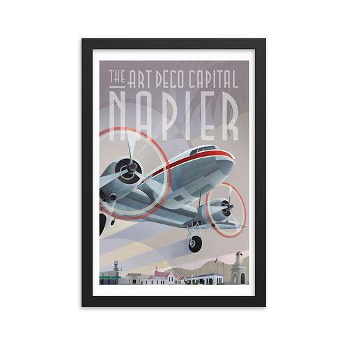 'Napier' Framed poster