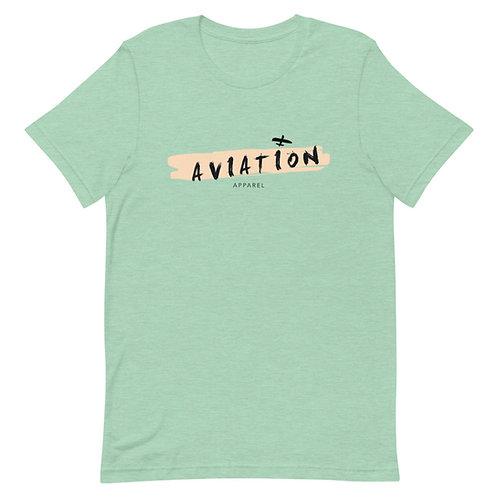 Brush Stroke Aviation Short-Sleeve Unisex T-Shirt