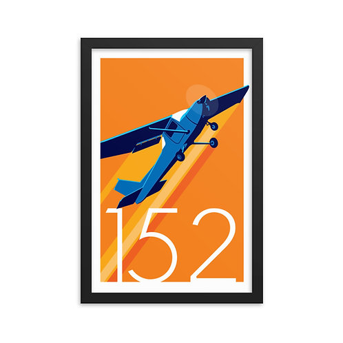 'Cessna 152' Framed poster