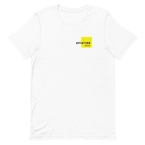 Yellow Box Aviation Short-Sleeve Unisex T-Shirt