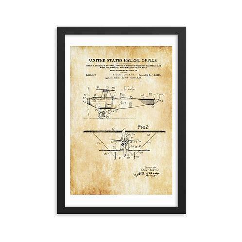 'Patent Office' Framed poster