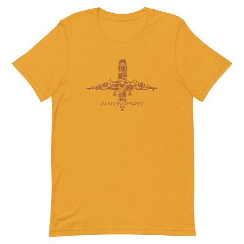 'Aviation Apparel Travel Art' Short-Sleeve Unisex T-Shirt