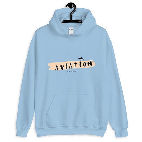 Brush Stroke Aviation Unisex Hoodie