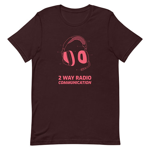 2 Way Radio Short-Sleeve Unisex T-Shirt