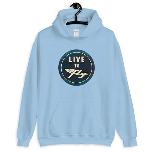 Live To Fly Unisex Hoodie
