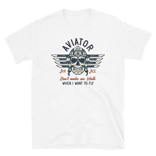 Bad Ass Aviator Unisex T-Shirt