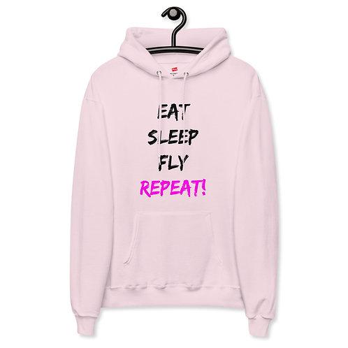 'Eat, Sleep' Unisex fleece hoodie