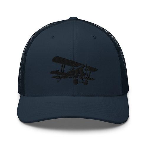 Classic Biplane Trucker Cap