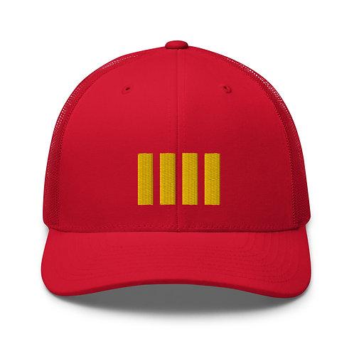 4 Stripe Baseball Cap